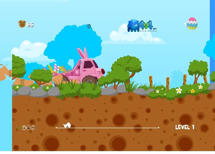 Игра Easter Truck онлайн