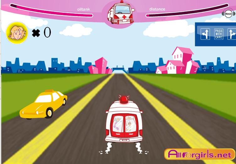 Игра Express Ambulance онлайн