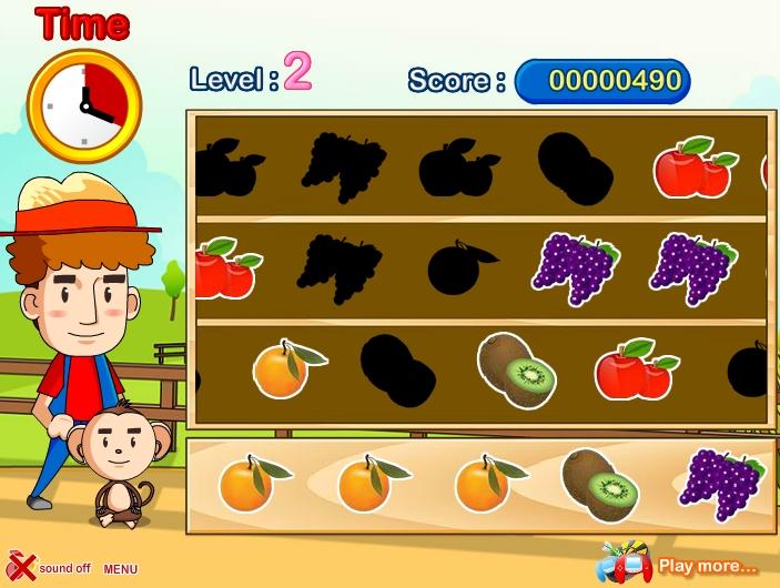 Игра Farm Rush онлайн