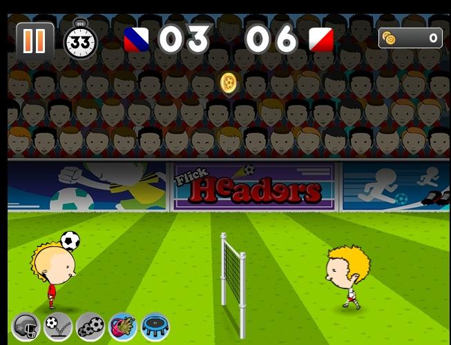 Игра Flick Headers Euro 2012 онлайн