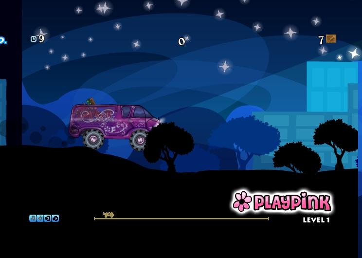 Игра Flower Truck онлайн