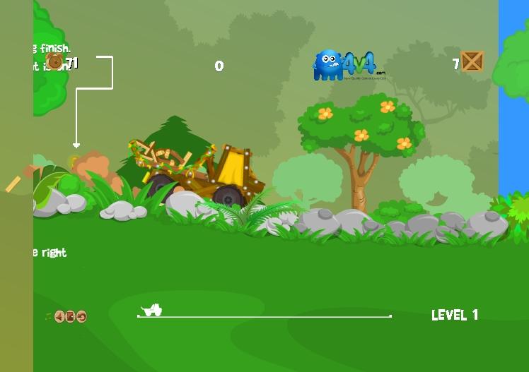 Игра Forest Truck онлайн