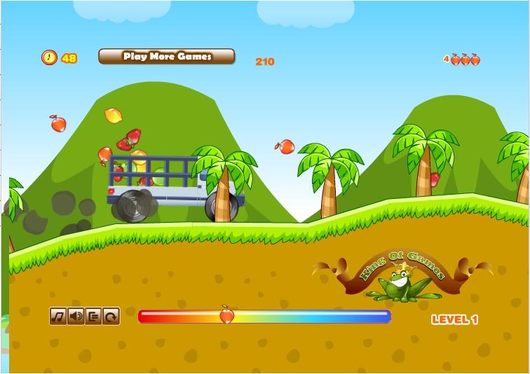 Игра Fruit Truck онлайн