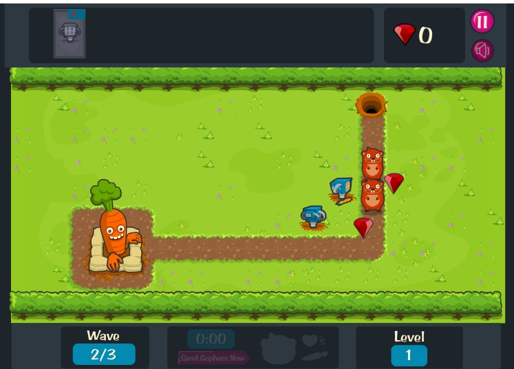 Игра Game Over Gopher онлайн