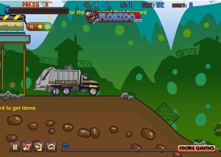Игра Garbage Truck онлайн