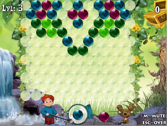 Игра GemBubblez онлайн