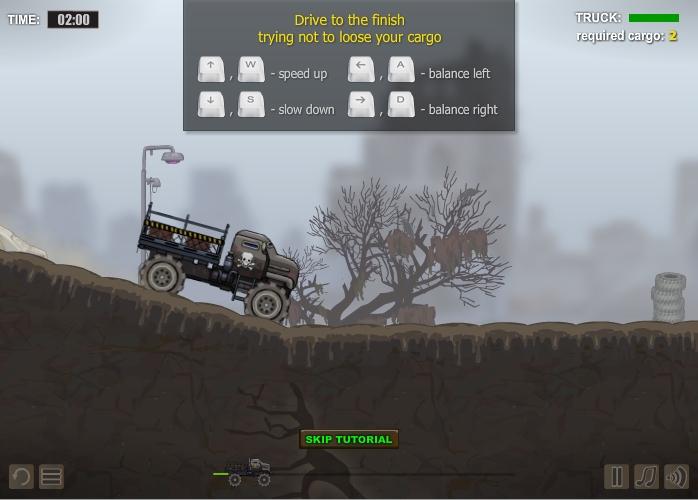 Игра Gloomy Truck 2 онлайн