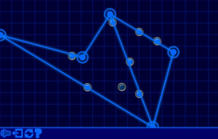 Игра Glow Web онлайн