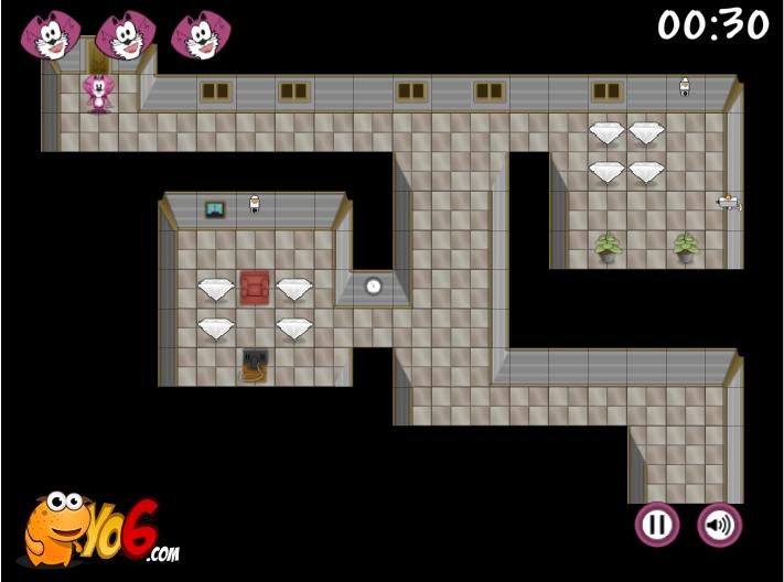 Игра Madcat Diamond Crook онлайн