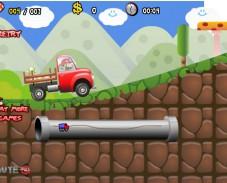 Игра Mario Truck Adventures онлайн