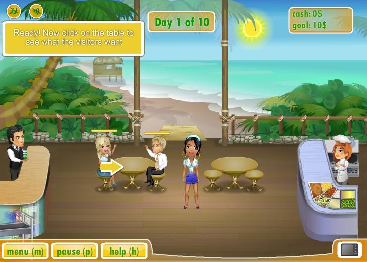 Игра Miami Restaurant онлайн