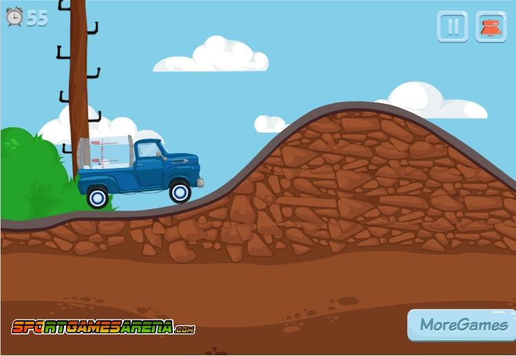 Игра Milky Truck онлайн