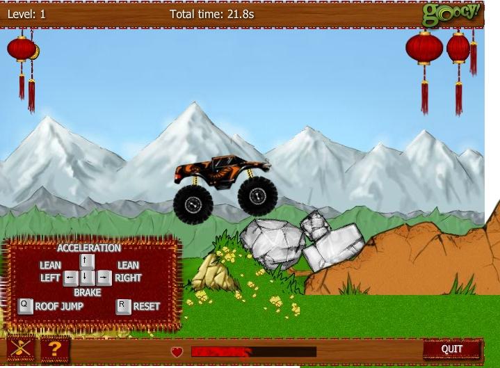 Игра Monster Truck China онлайн