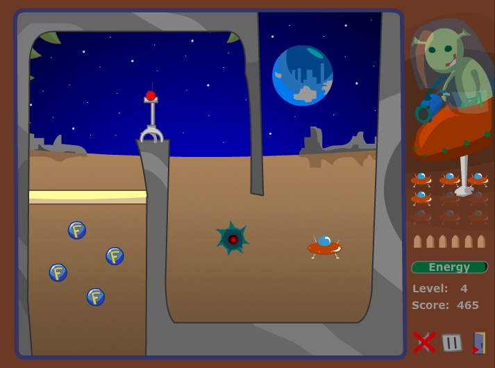 Игра Moon NLO 2 онлайн