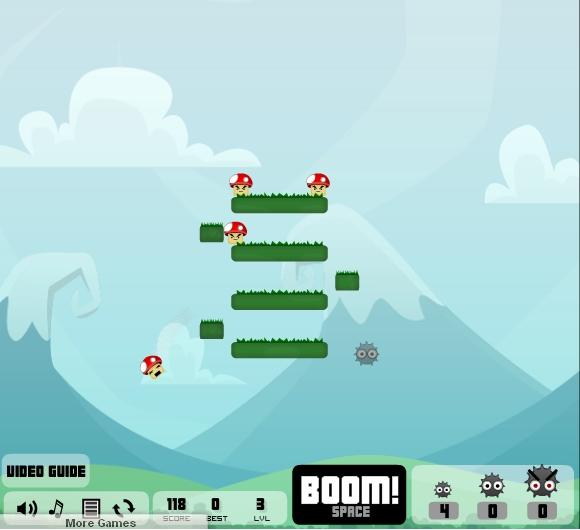 Игра MushBooms Level Pack онлайн