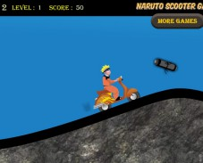 Игра Naruto scooter онлайн