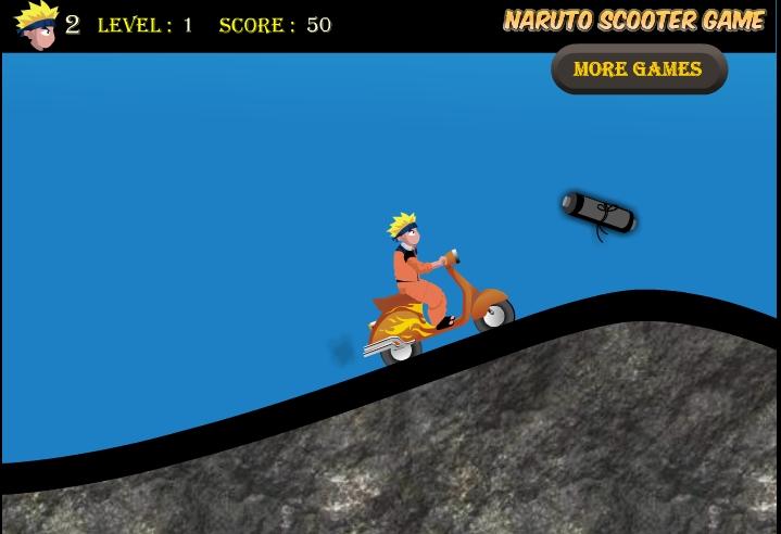 Игра Naruto scooter онлайн