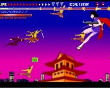 Игра Ninja air combat онлайн