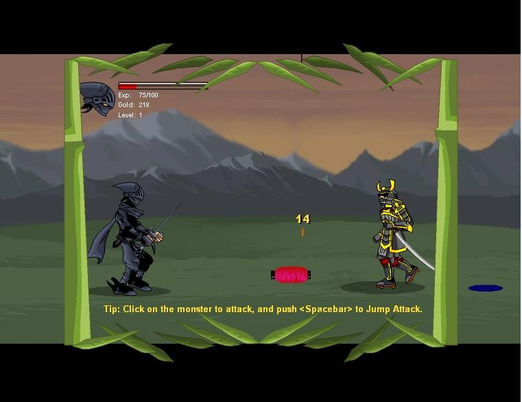 Игра Ninja assault онлайн