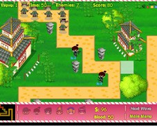 Игра Ninja vs pirated онлайн