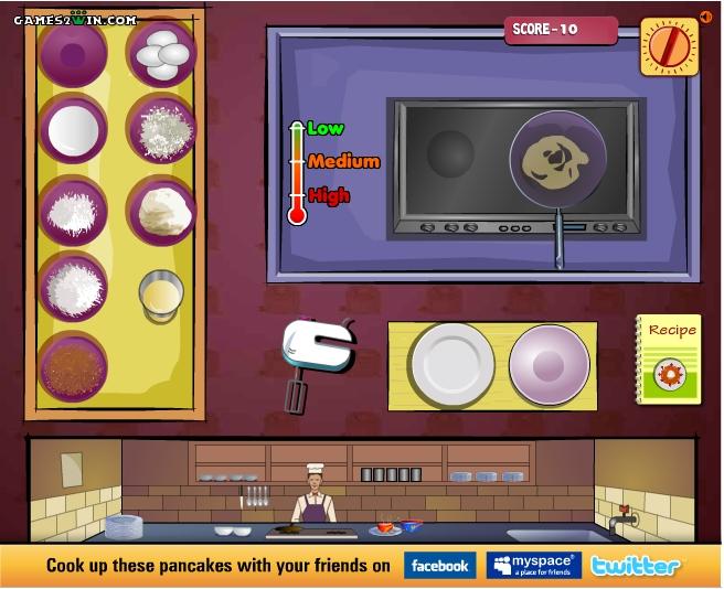 Игра Pan it Up онлайн