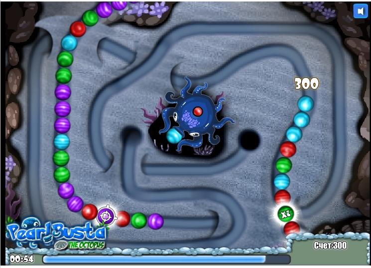 Игра Pearl Busta The Octopus онлайн