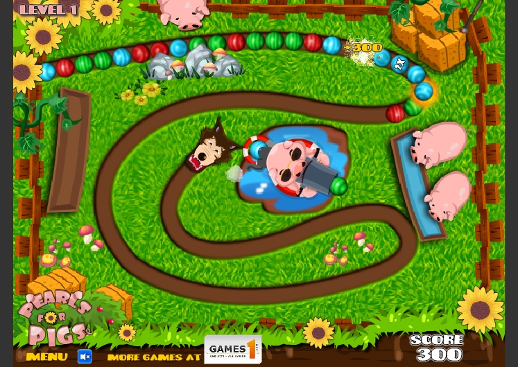 Игра Pearls for Pigs онлайн