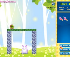 Игра Rabbit Save the World онлайн