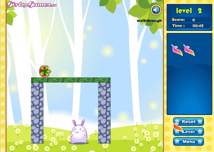 Игра Rabbit Save the World онлайн