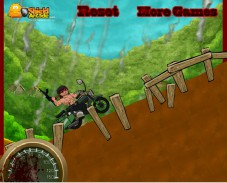Игра Rambo Bike Game онлайн