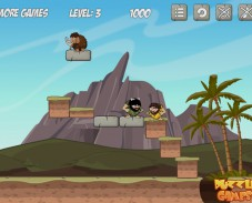 Игра Rolly Stone Age — Mammoth Rescue онлайн