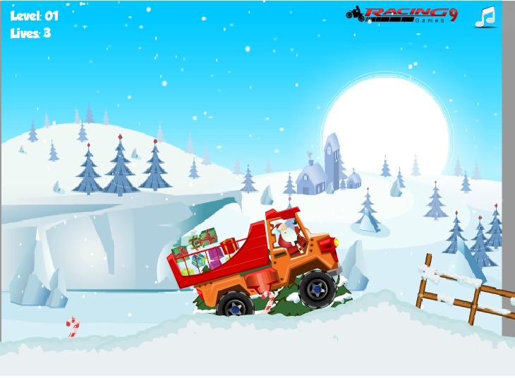 Игра Santa Truck 2 онлайн