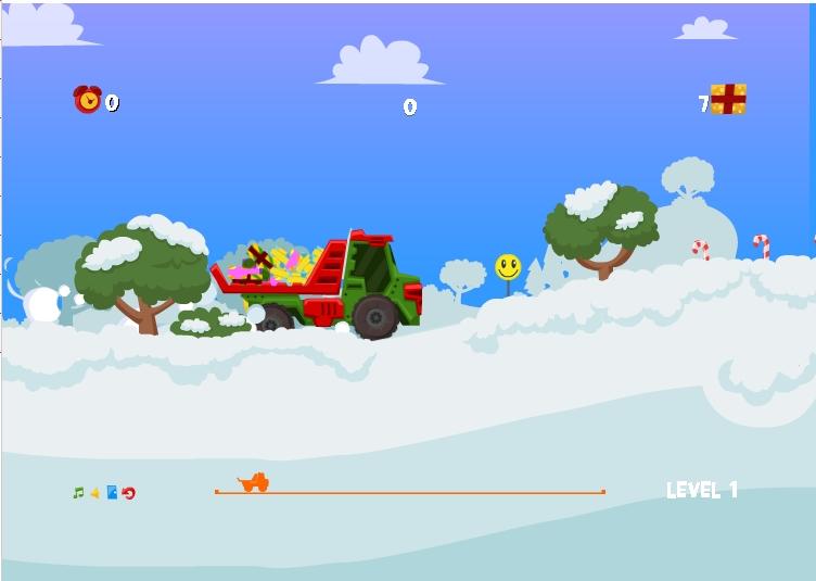 Игра Santa Truck онлайн