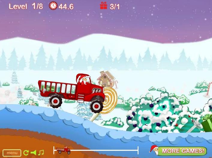 Игра Santa's Delivery Truck онлайн