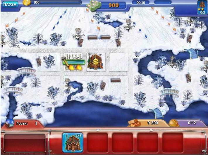 Игра Ski Resort Mogul онлайн