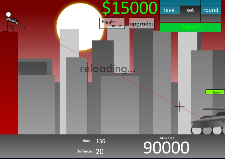 Игра Sniper 5 онлайн