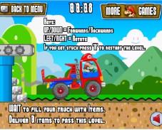 Игра Super Mario Truck онлайн