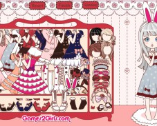Игра Sweet Lolita Dress Up Game онлайн