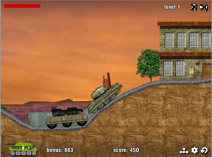 Игра Tank Mania онлайн