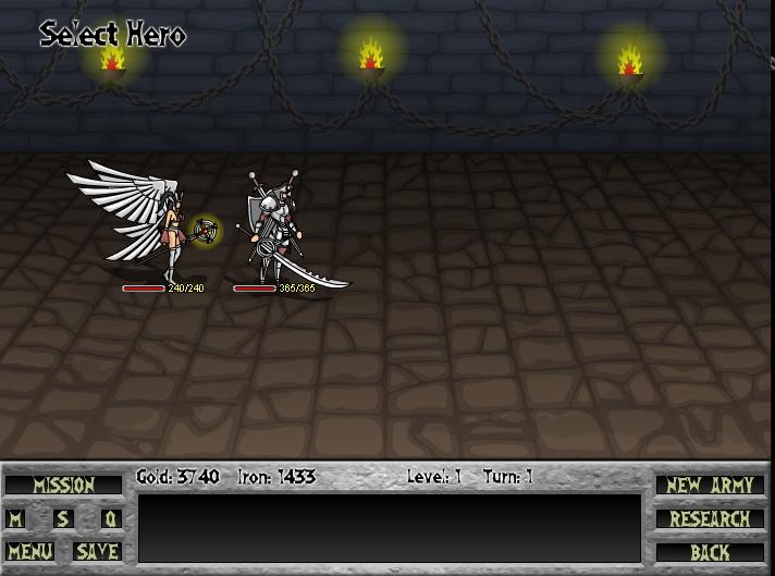 Игра The Leon Wars онлайн
