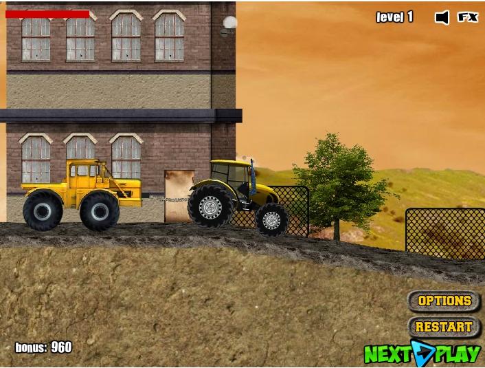Игра Tractor Mania онлайн