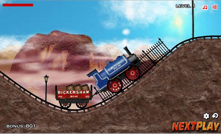 Игра Train Mania онлайн