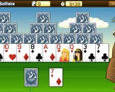 Игра Tri Peaks Solitaire онлайн