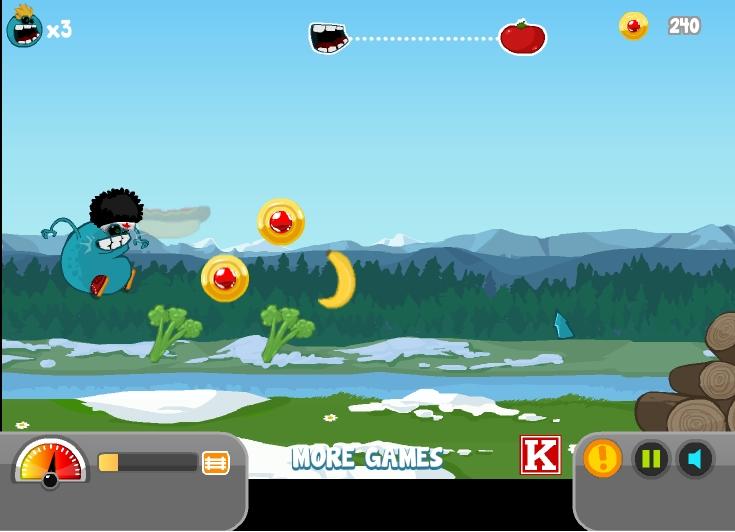 Игра Wigman Big Run онлайн