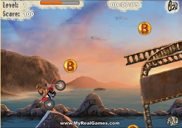 Игра Взрывной мотоцикл 2 онлайн