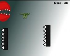 Игра Голодный динозавр онлайн