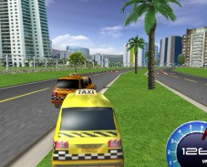 Игра Гонка такси 3D онлайн
