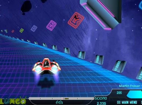Игра Гонки будущего онлайн