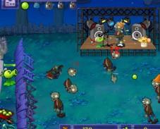 Игра Горох против зомби онлайн