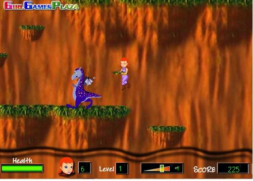 Игра Девушка-дракон онлайн